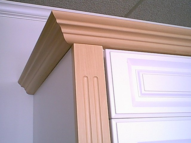 Now You See How We Use Crown Mold U0026 Fluted Fillers To Give Them Charm Of  Custom Fine Cabinetry. This Really Adds To The Look And Gives A Custom  Furniture ...